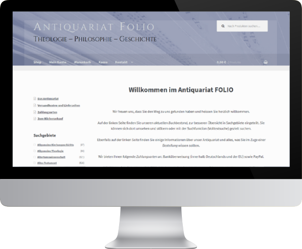 Antiquariat FOLIO